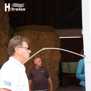 Helmut Preiss hoch konzentriert