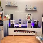 Ausstellung der Produkte